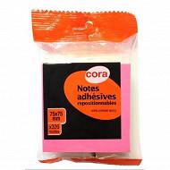 Cora bloc notes repositionnables 320 feuilles flowpack