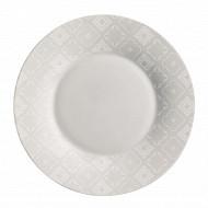 Assiette plate 28cm calicot