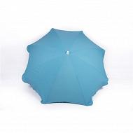 Anjosa parasol 180/8/22/25 mat inclinable aluminium uni bleu n°23