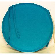 Anjosa galette ronde epaisseur 3cm bleu aqualand