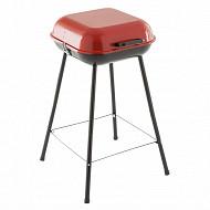 Barbecue charbon bragado rouge 36x36 cm