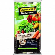 Algoflash naturasol terreau potager horticole sac 40 litres uab