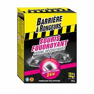 Barriere à rongeurs souris appât sur céréales 160 g