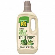 Kb engrais tout prêt plantes vertes 1 litre