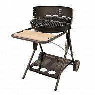 Verciel barbecue charbon de bois San Francisco en fonte sur chariot réf 308530P