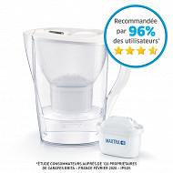 Brita Carafe filtrante Marella blanche Maxtra+ 1024037