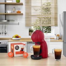 Krups machine à dosettes Picoolo XS rouge YY4203FD