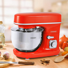 Kitchencook robot pâtissier rouge REVOLVE RED