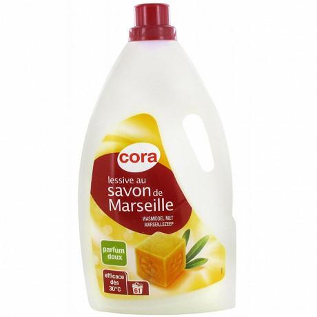 Cora lessive liquide Marseille 3.965l