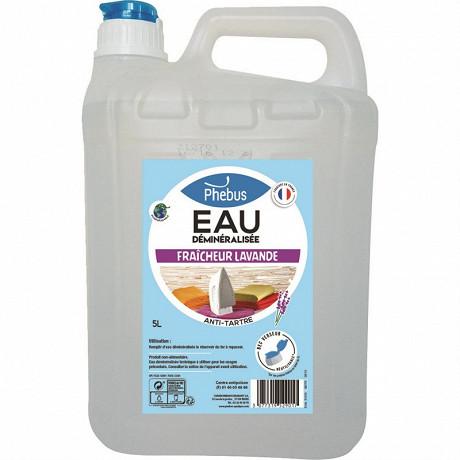 Phebus eau déminéralisée lavande 5 litres avec bec verseur