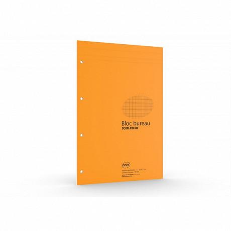 Cora bloc a4+ 210x315 mm 160 pages 80 grammes grands carreaux