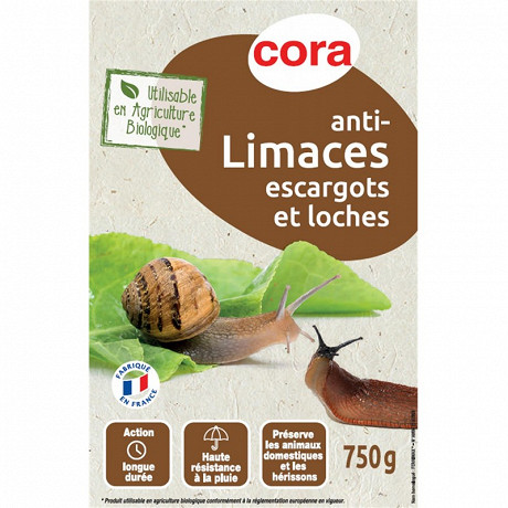 Cora Anti-limaces 750g granulés uab ferrimax