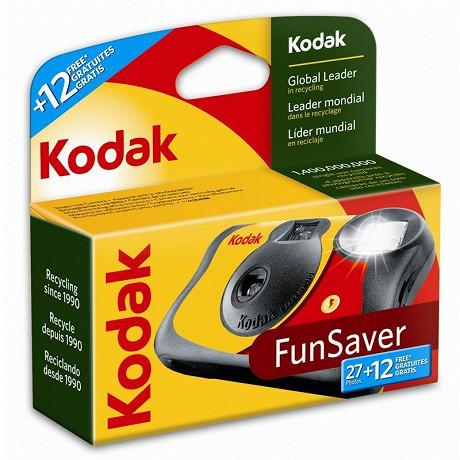 Kodak Appareil photo jetable fun saver 27+ 12 poses