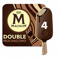 Magnum glace batonnet double moccachino 4x88ml - 292g