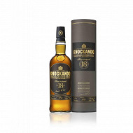 Knockando slow matured whisky 18 ans 70cl 43%vol + étui