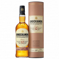 Knockando season whisky 12 ans 70cl 43%vol + etui