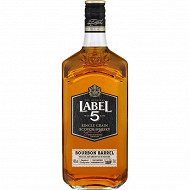 Label 5 bourbon barrel 70cl 40%vol