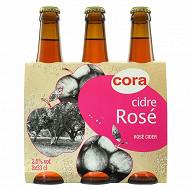 Cora cidre rosé 3x33cl 2.5%vol