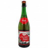 Cora cidre bouché breton doux 75 cl Vol.2%