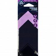 Style couture thermocollant noir 45cm x 12cm
