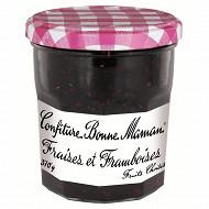 Bonne Maman confiture fraises et framboises 370g