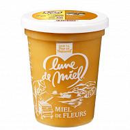 Lune de Miel miel de fleurs pot plastique 500g