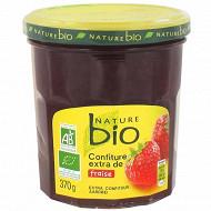 Nature bio confiture extra fraise 370g