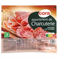 Cora assiette charcuterie 200g