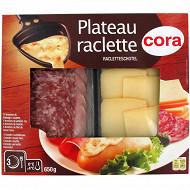 Cora plateau raclette avec fromage 650g
