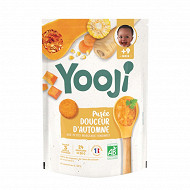 Yooji purée bio 9 mois et plus douceur d'automne 480g (24 galets de 20g)