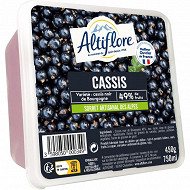 Altiflore sorbet artisanal cassis 450g - 750ml