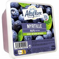 Altiflore sorbet artisanal myrtille 450G - 750ml