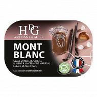 HDG crème glacée mont blanc 750ml - 487.5g