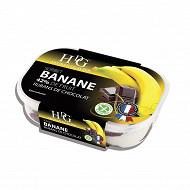 HDG sorbet banane rubans de chocolat 750ml soit 487.5g