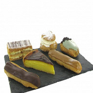 Assortiment pâtisseries x6
