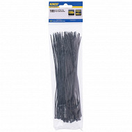 Lot de 100 attache-câbles  2.5 x 200 mm