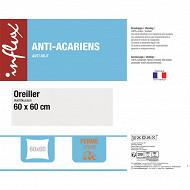 """Oreiller 60X60 """"ferme anti-acariens"""""""