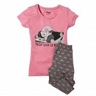Pyjama corsaire ROSE T38\40