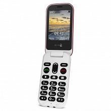 Doro Téléphone portable à clapet 6060 ROUGE LS