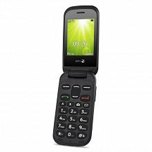"""Doro Télephone portable à clapet 2.4"""" 2404 NOIR LS"""