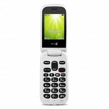 """Doro Télephone portable à clapet 2.4"""" 2404 ROUGE LS"""