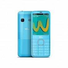 """Wiko Téléphone portable 2.4"""" RIFF3 PLUS LS SWEET BLUE"""