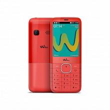 "Wiko Téléphone portable 2.4"" RIFF3 PLUS LS CHERRY RED"