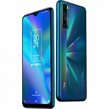 """Tcl Smartphone 6.82"""" 20 SE PEACOCK GREEN"""