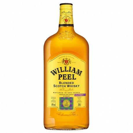 William Peel whisky 2l 40% vol