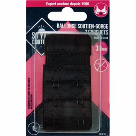 Stuyle couture rallonge soutien-gorge 38mm noir