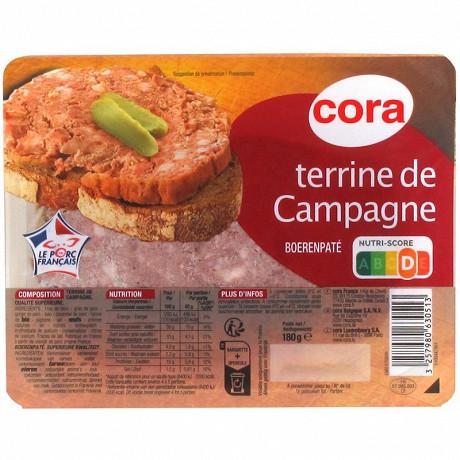 Cora terrine de campagne 180g