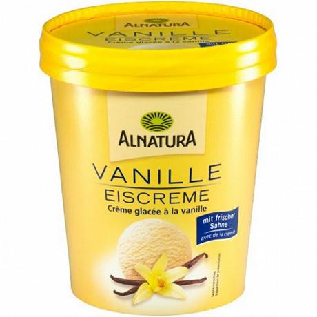 Alnatura crème glacée a la vanille bio 350g - 500ml