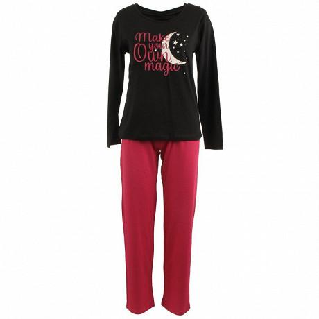 Pyjama long manches longues NOIR T42\44