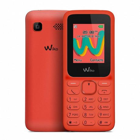 "Wiko Téléphone portable 1.8"" LUBI5 PLUS LS CHERRY RED"